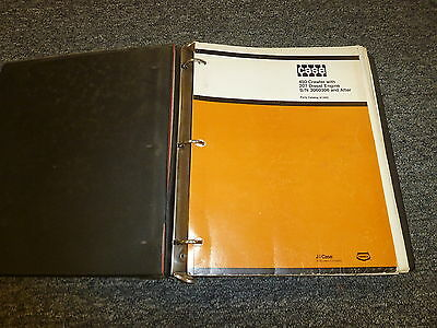 Case 450 Crawler Loader W 207 Diesel Engine Parts Catalog Manual Sn 3060306-up