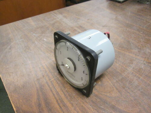 GE DC Ammeter 50-103111LSLS Range: 0-5A Used