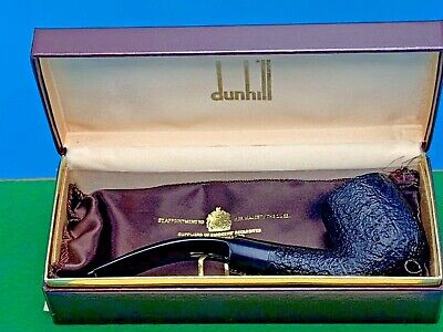 Bent Pot - DUNHILL UNSMOKED BENT POT SHELL BRIAR 5215 PIPE NEW IN BOX 1986 Pfeife 烟斗
