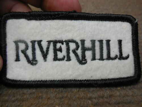 Vintage Riverhill Country Club Kerrville Texas Felt Patch Golf