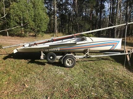 Northbridge Senior NS14 sailboat & trailer