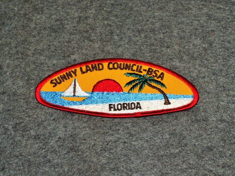 BSA CSP...SUNNYLAND COUNCIL 724...FLORIDA...COUNCIL MERGED 1995...T-4B ISSUE