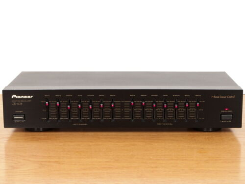 Pioneer GR-408 Graphic Equalizer - Tested Perfect Working - Excellent Condition