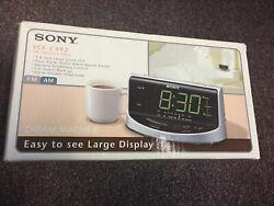 SONY Dream Machine FM/AM Large Display Clock Radio ICF-C492 NEW NIB