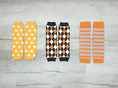 3 Options! *Halloween & Autumn* Leg Warmers / Arm Warmers Unisex Baby & Toddler -