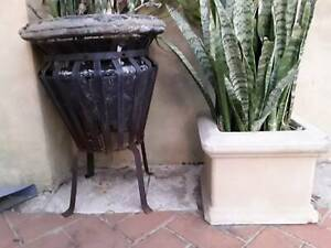 Pair of pot plants 66 and 33cm