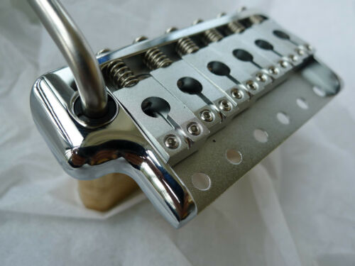 PRS Style Tremolo Bridge Complete Install Kit Fit Vintage Guitar ---BRASS/CHROME