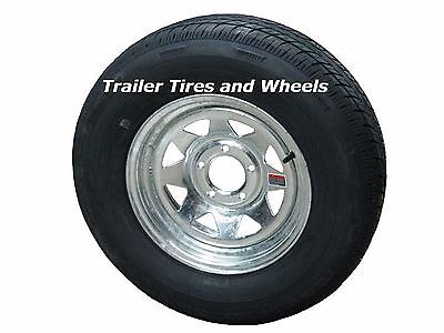 *3* Rainier ST175/80R13 LRC Radial Trailer Tires & Wheels Galvanized Spoke 5-4.5