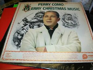 Perry Como Merry Christmas Music Lp Pickwick Cas 660
