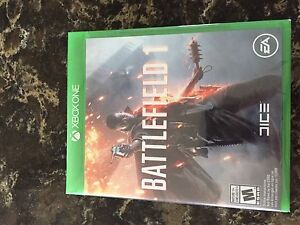 Battlefield 1 Xbox One Brand New Sealed game