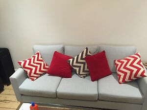 3-seat lounge - SIX MONTHS OLD Bondi Beach Eastern Suburbs Preview