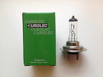 EUROLEC H7 477 499 CAR HALOGEN HEADLAMP HEADLIGHT BULB 12V 55W PX26d - LEAD FREE