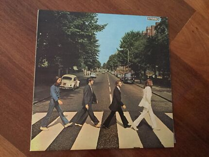 BEATLES ABBEY ROAD VINYL LP RETRO ONLY 1 OWNER LATE 70s