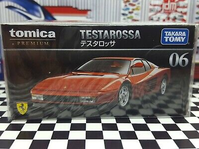 TOMICA PREMIUM #06 FERRARI TESTAROSSA 1/61 SCALE NEW IN BOX