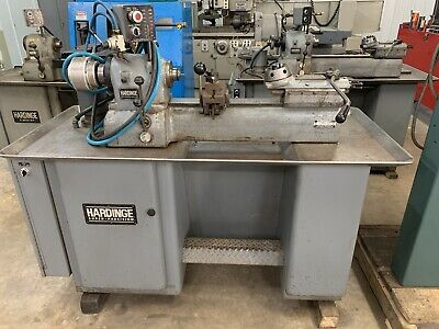 Hardinge Dsm-59 Second Op Lathe Vari-speed5c Air Colletcross Slideturret