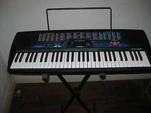 Casio CTK- 495 keyboard in good condition with stand Earlwood Canterbury Area Preview