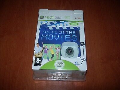 YOU´RE IN THE MOVIES + CAMARA XBOX LIVE VISION XBOX 360 (PAL...