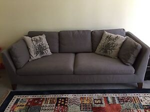 2* Three-seat Sofa ( Stockholm )-Gray Hornsby Hornsby Area Preview