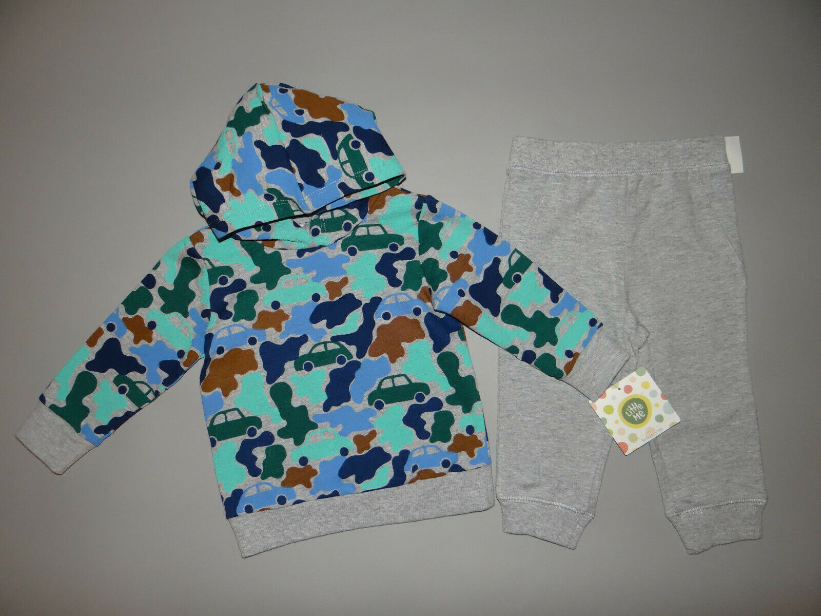 NWT, Baby boy clothes, 24 months, Little Me 2 piece set/  ~SEE DETAILS SIZE/SALE
