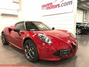 2015 Alfa Romeo 4C Coupe Carbon Fiber, Dual Mode Race  Exhaust,