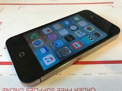 Apple iPhone 4s - 8GB - Black (Unlocked GSM) A1387 - Good Cond - Works