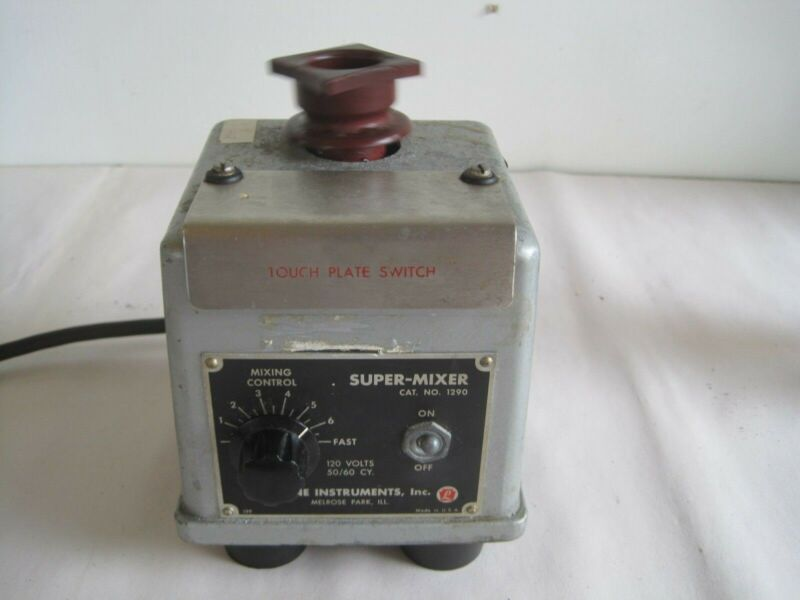 Mixer Variable Speed Professional Lab Line Instruments Super Mixer 1290