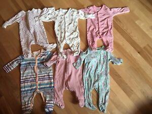 6 pyjamas fille