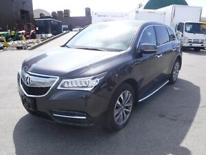 2016 Acura MDX SH-AWD 9 Speed AT with Tech Package 3rd Row Seati