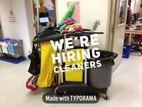 CLEANERS NEEDED - 3 Saskatoon Areas