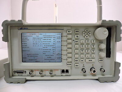 Aeroflex P25 Wireless Radio Test Set Ifr2975 With Remote Cal Evm Szsnet.