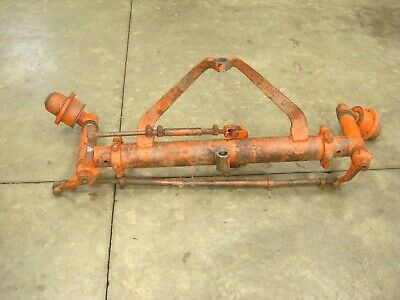 1963 Case 831 Tractor Wide Front Axle Assembly