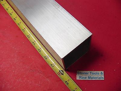 3x 3x 18 Wall X 48 Long Aluminum Square Tube 6063 T52 3 Sq X .125