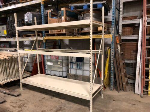 Lozier Wide span shelving BRAND NEW brand Wood Shelf inserts 20 bay lot