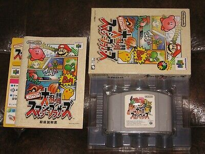Dairantou Smash Brothers - Nintendo 64 N64 JP Japan Japanese Import Super Bros. ()