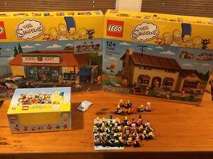 Lego Simpson collection Murray Bridge Murray Bridge Area Preview