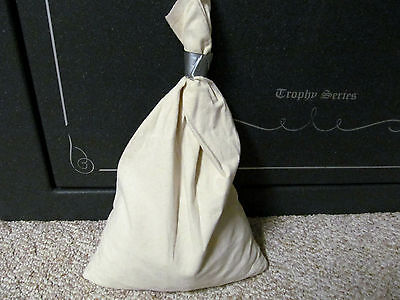 "Canvas Bank Bags Deposit Bag for Old Vintage Money Coins.  14"" x 24""  #2020"