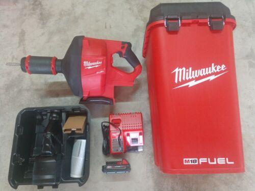 Milwaukee M18 Fuel Drain Snake / Drain Cleaner Model# 2772A-21