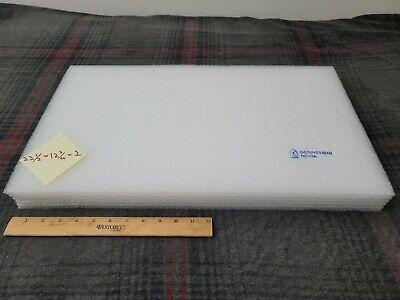 Large White Polyethylene Foam Sheets 22-12 12-34 2