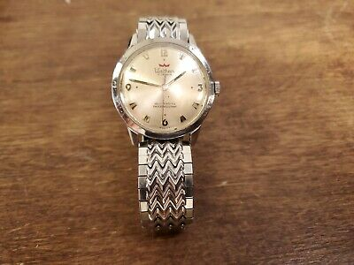 Vintage Waltham Ladies Watch Self-Winding 17 Jewel Shock Resistant-Runs Strong