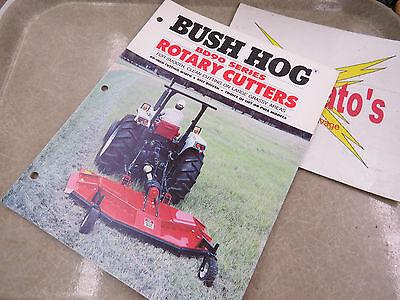 Bush Hog Bd90 Series Rotary Cutters Advertisement Booklet