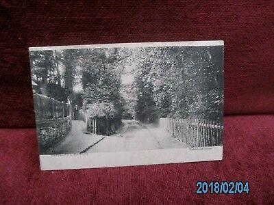 OLD POST CARD BATT,S HILL ,REDHILL SURREY . Batt Post