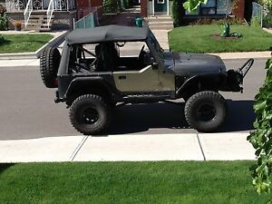 2004 jeep rubicon lifted long arm custom