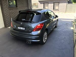 Peugeot 207 gti 2007 Fawkner Moreland Area Preview