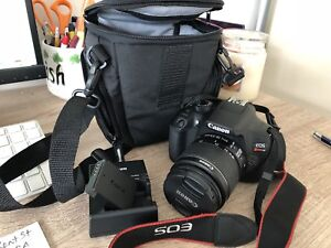 Canon T6 Rebel. EFS 18-55mm IS ll lens, many extras!!!!