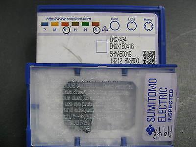 Dngx434 Bns800 Sumitomo Solid Cbn Turningmilling Insert