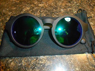 EyeKonic Eyewear/Sunny Rebel Sunglasses Madison black blue/green mirror lens new