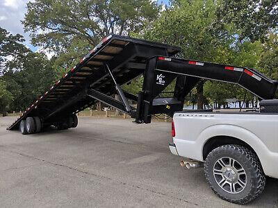 40 Gooseneck Hydraulic Tilt Trailer Container Trailer