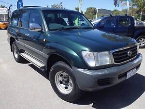 1999 TOYOTA 100 SERIES GXL LANDCRUISER 8  SEATER 4X4 ( DUAL FUEL) East Rockingham Rockingham Area Preview