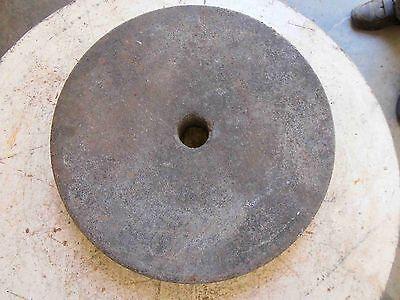 Alter Schleifstein Ø 34 cm mit Mittelloch Gartendeko RAR