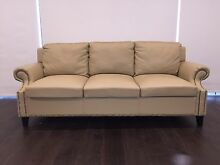 Brand new 3 seater hamptons leather sofa Monterey Rockdale Area Preview